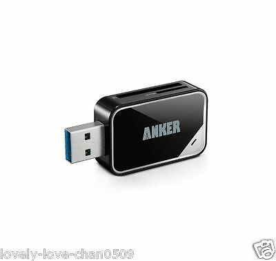 Anker Japan USB 3.0 Card Reader for SD-XC SD MMC RS-MMC SD-HC Micro SD Mini SD