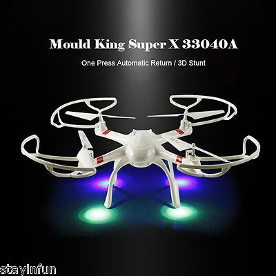 Mould King Super X 33040A 2.4GHz 4CH 4-axis RC Quadcopter with 360 Degree Flip