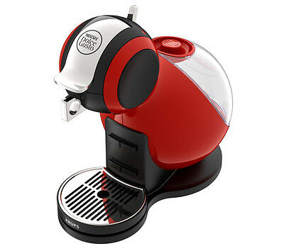 KRUPS Dolce Gusto Melody 3 Hot Drinks Machine - Red Tank capacity: 1.3 litres