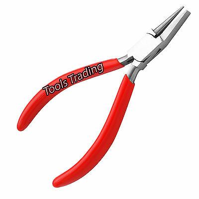 Round and Flat nose pliers wire bending ring Bending Looping forming pliers Red