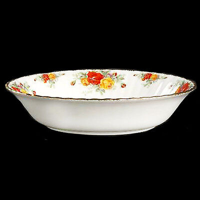 PACIFIC ROSE by Royal Albert Open Vegetable Oval NEW NEVER USED made in England