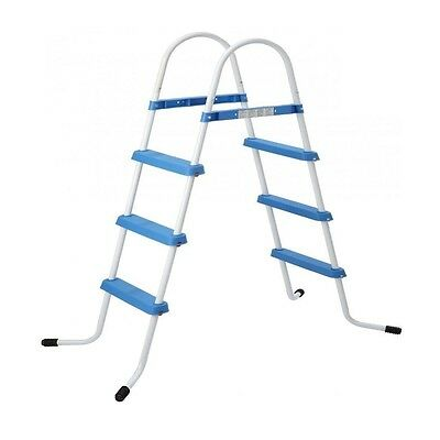 Jilong 3 Step Pool Ladder for inflatable swimming pool 84cm / 33 inches NEW ^