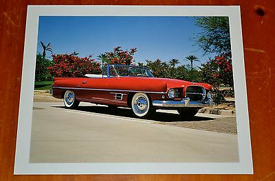 Large Photo 1957 Chrysler Dual Ghia Vintage 50S American Concept Car Auto