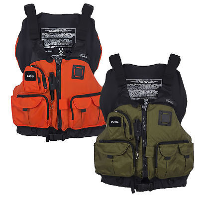 NRS Chinook Fishing PFD / Buoyancy Aid for Canoe / Kayak / Sit on top RRP £85.95