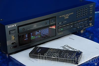 ►Sony Cdp X33Es◄Lettore Cd Player Con Telecomando Rm D590 Vintage Kss 270A Top!