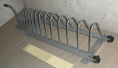 """Olympic Bumper Plate """"Toast Rack"""", Portable Storage Stand for Bumper 2"""" Weights"""