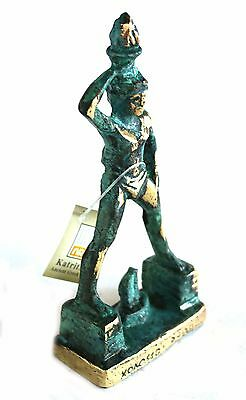 Ancient Greek Bronze Colossus Of Rhodes Green-Gold Oxidization 214