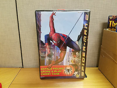 Toybiz Spider-Man 2 Action Figure Store and Play Carry Case!