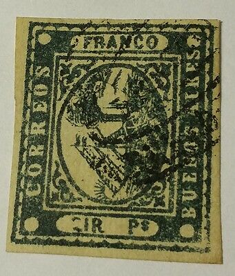 Buenos Aires  Scott #2   Used   Stamp... ..worldwide Stamps