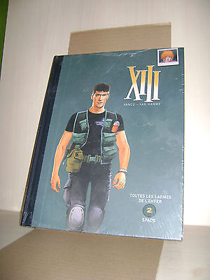 XIII - INTEGRALE - TOME 2 - EO - 2 TITRES + DOSSIER - LUXE - TR.Toilée - NEUF