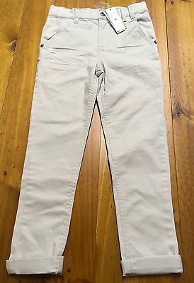 *new* Petit Lem Kids Unisex Cream Cuffed Jeans Boys Girls