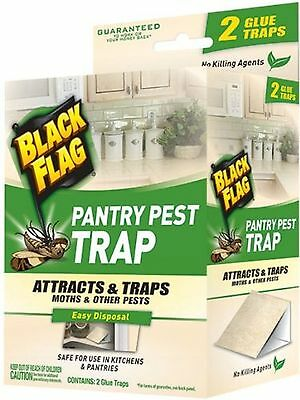 Black Flag 11038 Pantry Pest Trap, 2-Count, Pack of 1 (Pest Control) [HG-11038]