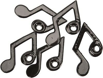 Eyelet Outlet Quicklets No-Setter-Needed Eyelets Shapes 20/Package, Music Note.