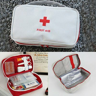 New First Aid Kit Bag Emergency Ambulance Home Medical Sport Travel Car Outdoor