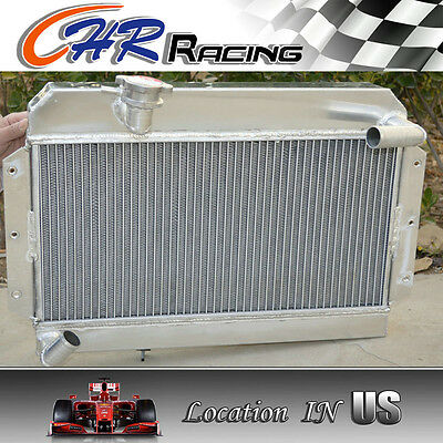 NEW 56 mm Aluminum radiator for ROVER/MG MGA 1500/1600/1622/DE-LUXE