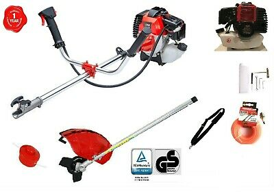 52cc 2 IN 1 PETROL STRIMMER BRUSH CUTTER GRASS TRIMMER ONE YEAR WARRANTY