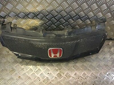 HONDA CIVIC TYPE R FN2 2006-2010 FRONT GRILL GRILLE ( Damaged )