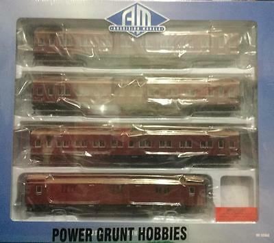 AUSCISION VPS-1 E CL PASSENGER CAR SET-1921-1954 Era (Power Grunt Hobbies)
