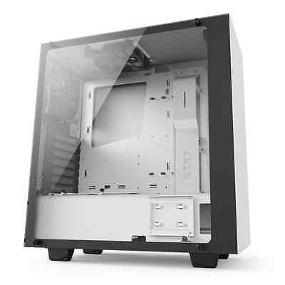 NZXT S340 Elite Mid Tower Gaming Case - White USB 3.0