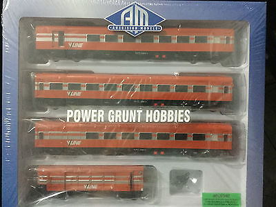 AUSCISION VPS-8 N PASSENGER CARS SET V/LINE   (Power Grunt Hobbies)
