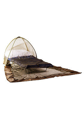 Pyramid Pop Up Dome Green Single Mosquito Net for Bed Freestanding Camping