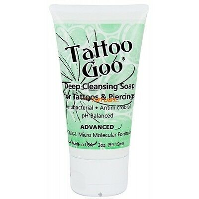 TATTOO GOO AFTERCARE SOAP HEALING + PROTECTION 2oz 60ml
