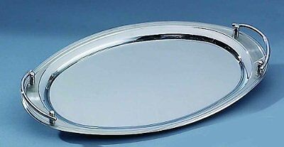 Stainless Steel Oval Tray With Handles