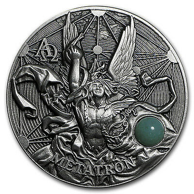 2016 Niue 2 oz Silver $5 The Choir of Angels Metatron - SKU #98453