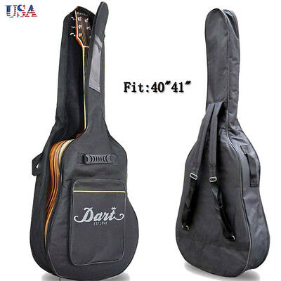 Full Size Padded Protective Classical Acoustic Guitar Back Bag Carry Case 41Inch