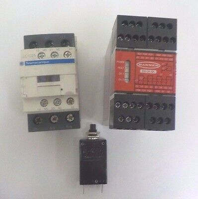 Lot of Industrial Electrical Automation Parts, Contactor,Circuit Breaker & Relay