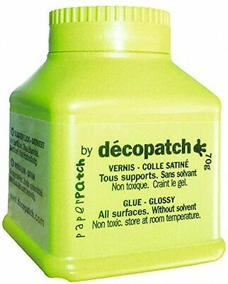 Decopatch Paperpatch Varnish Glue - 70 G - White| FAST AND FREE DELIVERY