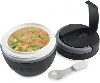 Polar Gear Lunch Pod - Black - 500ml - FAST AND FREE DELIVERY