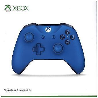 Microsoft Xbox One S Controller Wireless Blue New