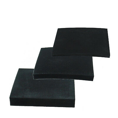 Rubber Pad Surface 3, 6 and 10 mm, absorbs Height adjustment