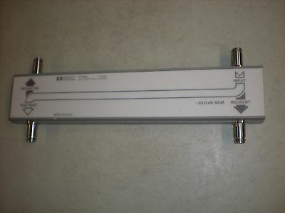 Hewlett Packard Model 722D Dual Directional Coupler - 2-18GHz