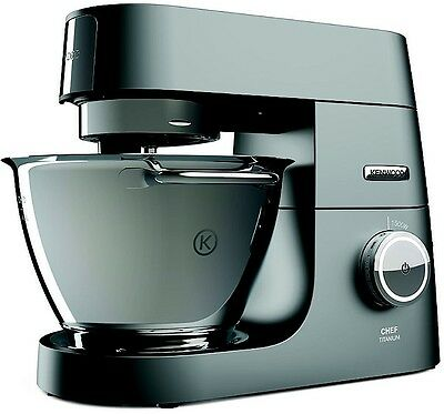 Kenwood Chef Titanium Powerful Stand Mixer Electronic Speed Control KVC7300S