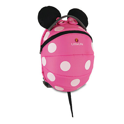 LITTLELIFE Kinder Rucksack 3+ Jahre, Sonderedition: Minnie Mouse, Spiderman