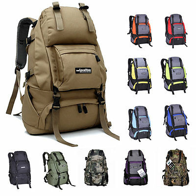 NEW 40L Backpack Rucksack Military Army Camouflage Camping Trekking Hiking Bag