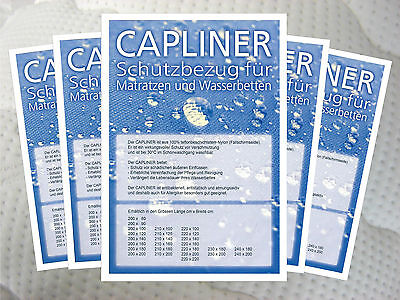 Top Liner capliner Slipcover Dust Protection for waterbeds, Various Sizes