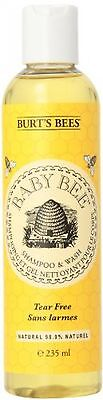 Burt's Bees Baby Bee Shampoo And Wash - 235 ml - FAST AND FREE DELIVERY