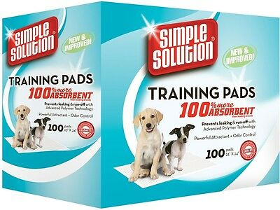 Puppy Dog Training Pads, 100 Pack Simple Solution Pet Toilet Supplies Trainer