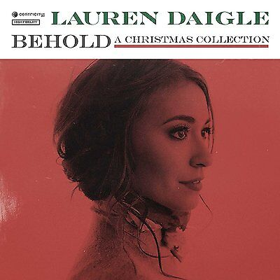 88 SOLD Lauren Daigle - Behold [ A Christmas Collection ] - CD - NEW! FREE SHIP!