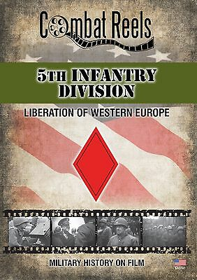 5th Infantry Division: WWII Archives Research DVD - Western Europe Film Footage