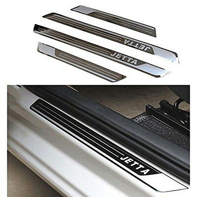 Stainless Door Sill Scuff Plate Guard For VW Volkswagen JETTA MK4/MK5 2004-2013