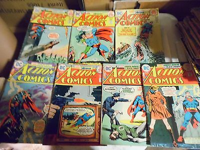 Action Comics Lot of 7 books #436 #438 #439 #440 #442 #444 and #446