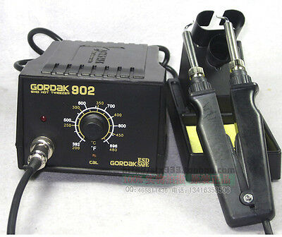 GORDAK 902 ESD SMD Soldering Tweezer Repair Rework Station