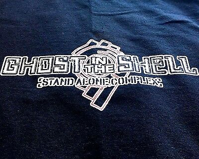 2002 - 03 Ghost In The Shell T Shirt XL Stand Alone Complex