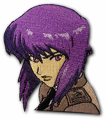 Ghost in the Shell Stand Alone Complex SAC Major Motoko Kusanagi Patch ~Licensed
