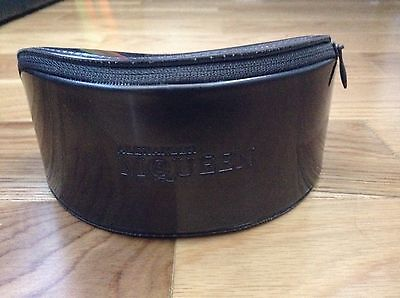 BN 100% auth Alexander McQueen glasses / sunglasses case With Logo.