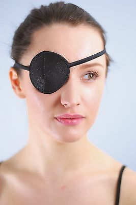 Medical Eye patch, BLACK TWINKLE, Soft and Washable, Sold to the NHS